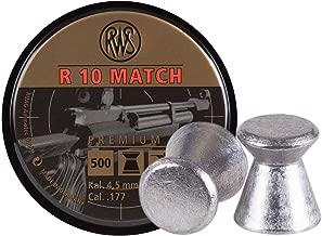 RWS-R-10 Match Heavy .177 Cal, 8.2 Grains, Wadcutter, 500ct