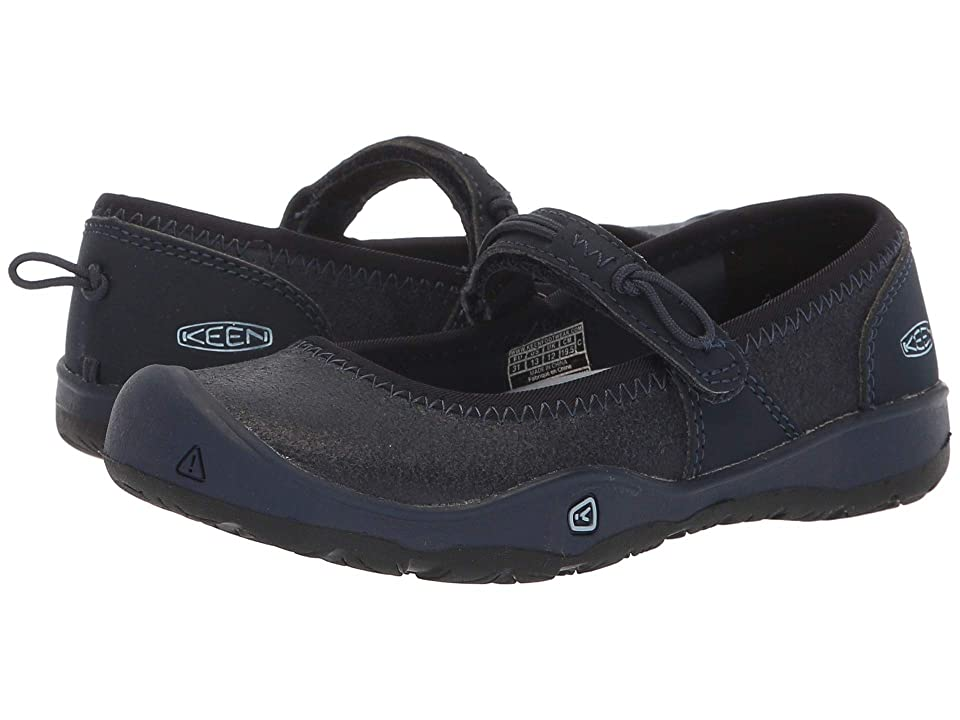 Keen Kids Moxie Mary Jane (Toddler/Little Kid) (Blue Nights/Blue Fog) Girl
