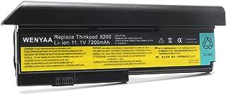 11.1V 7200mAh Laptop Battery for Lenovo IBM ThinkPad X200 X200s X201 X201i X201s;P/Ns 42T4534 42T4535 42T4543 42T4650 42T4834 43R9254 43R9255