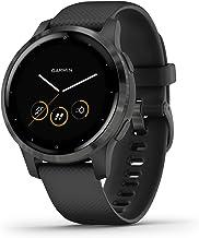 Garmin Vívoactive 4S Waterdichte GPS-Fitnesssmartwatch, met Trainingsplannen en Geanimeerde Oefeningen, voor Smalle Polsen...