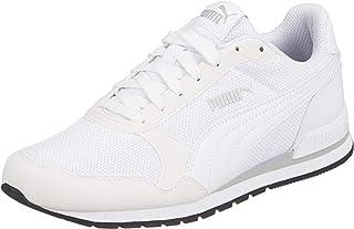 PUMA ST Runner v2 Mesh Puma White-High Rise-P Moda Ayakkabılar Unisex Yetişkin
