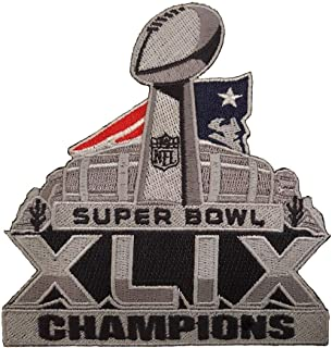 super bowl 49 iron on patch