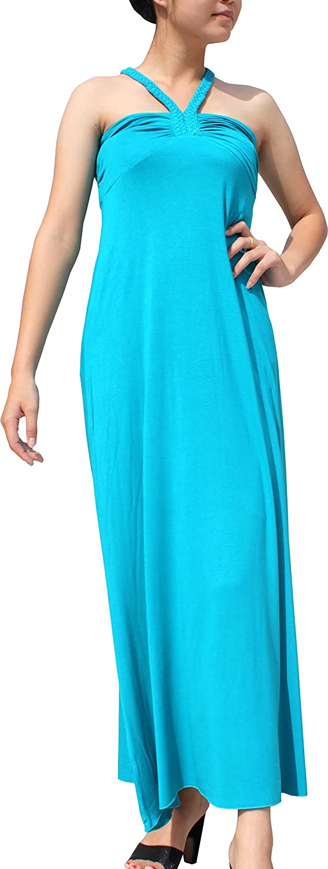 Full Funk Spandex Pia Kho V Sleeveless Slim Style Summer Dress