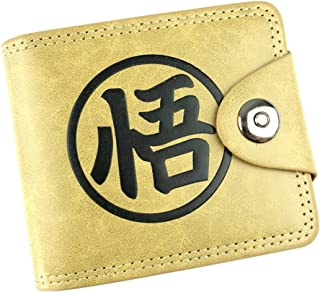 Gumstyle Dragon Ball Anime Cosplay 10 Slots Bifold Wallet Card Holder Purse