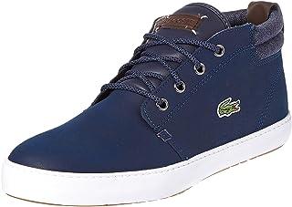 Lacoste Ampthill Terra Sneaker For Men Navy & White Size 10 US
