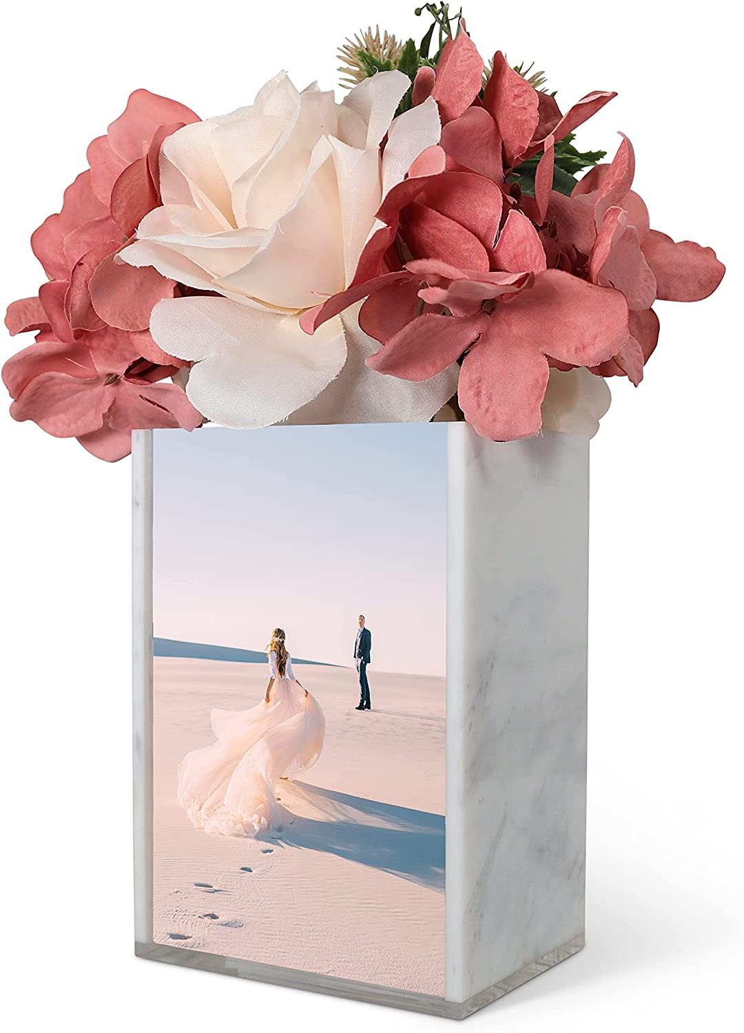 Daily bargain sale La Valage Vase Picture Bargain Frame Double Room Photo Decor Home Sided