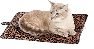 Purrfect Thermal Mat, Leopard Brown