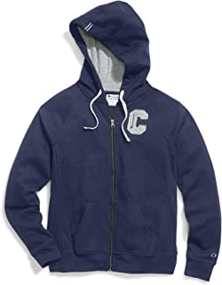 Champion Women's Plus Heritage Fleece Zip Hoodie, Block C Imperial Indigo XL