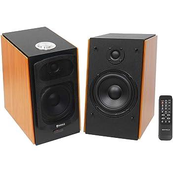 "(2) Rockville HD5 5"" Powered Studio Monitor Bluetooth Bookshelf Speakers"
