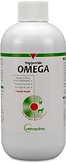 Vetoquinol Triglyceride Omega Liquid Dog & Cat Supplement, 8oz: All Weights