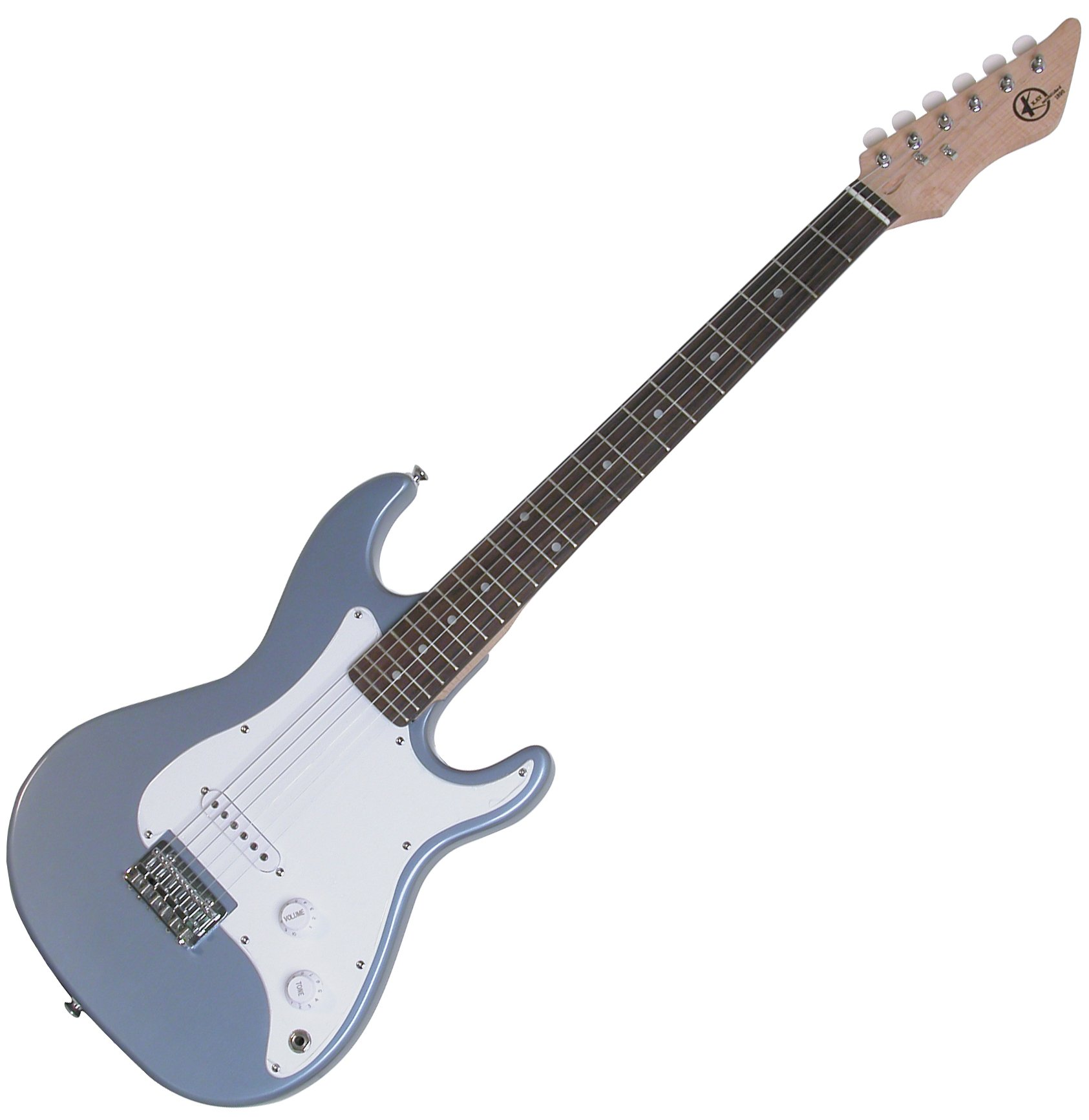 Cheap Kay KE17MBL Electric Guitar 7/8 Solid Body Full Scale Neck Blue Black Friday & Cyber Monday 2019