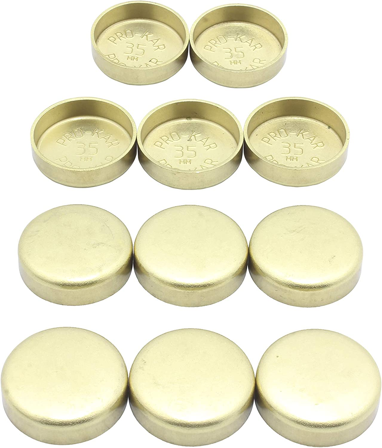 BRASS FREEZE CORE WELCH PLUG FOR TOYOTA 3S-FE 5S-FE CAMRY CELICA ...