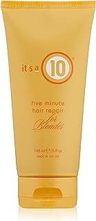 It's a 10 Haircare Five Minute Hair Repair for Blondes, 5 fl. oz.