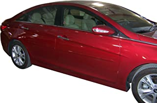 Body Side Moldings made for the 2011-2019 Hyundai Sonata Painted in the Factory Paint Code of Your Choice #VU VU8