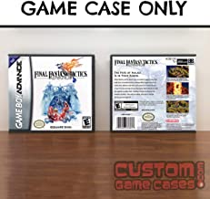 Gameboy Advance Final Fantasy Tactics Advance - Case