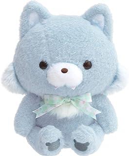 リラックマ チャイロイコグマのお友達 ぬいぐるみ アオイコオオカミ MF03301