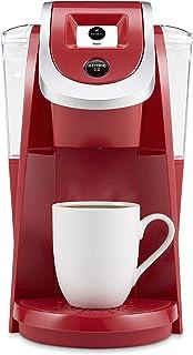 Keurig K200 Coffee Maker, Single Serve K-Cup Pod Coffee Brewer, With Strength Control, Strawberry (Renewed)