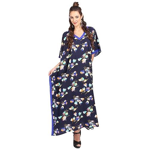 19ccf3ee452 Kaftan Tunic Kimono Dress Ladies Summer Women Evening Maxi Party Plus Size  10-24