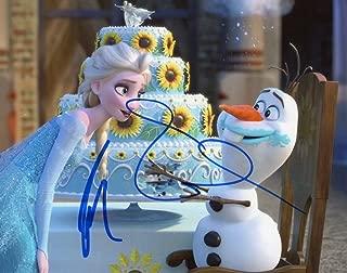IDINA MENZEL & JOSH GAD - Frozen AUTOGRAPHS Signed 8x10 Photo