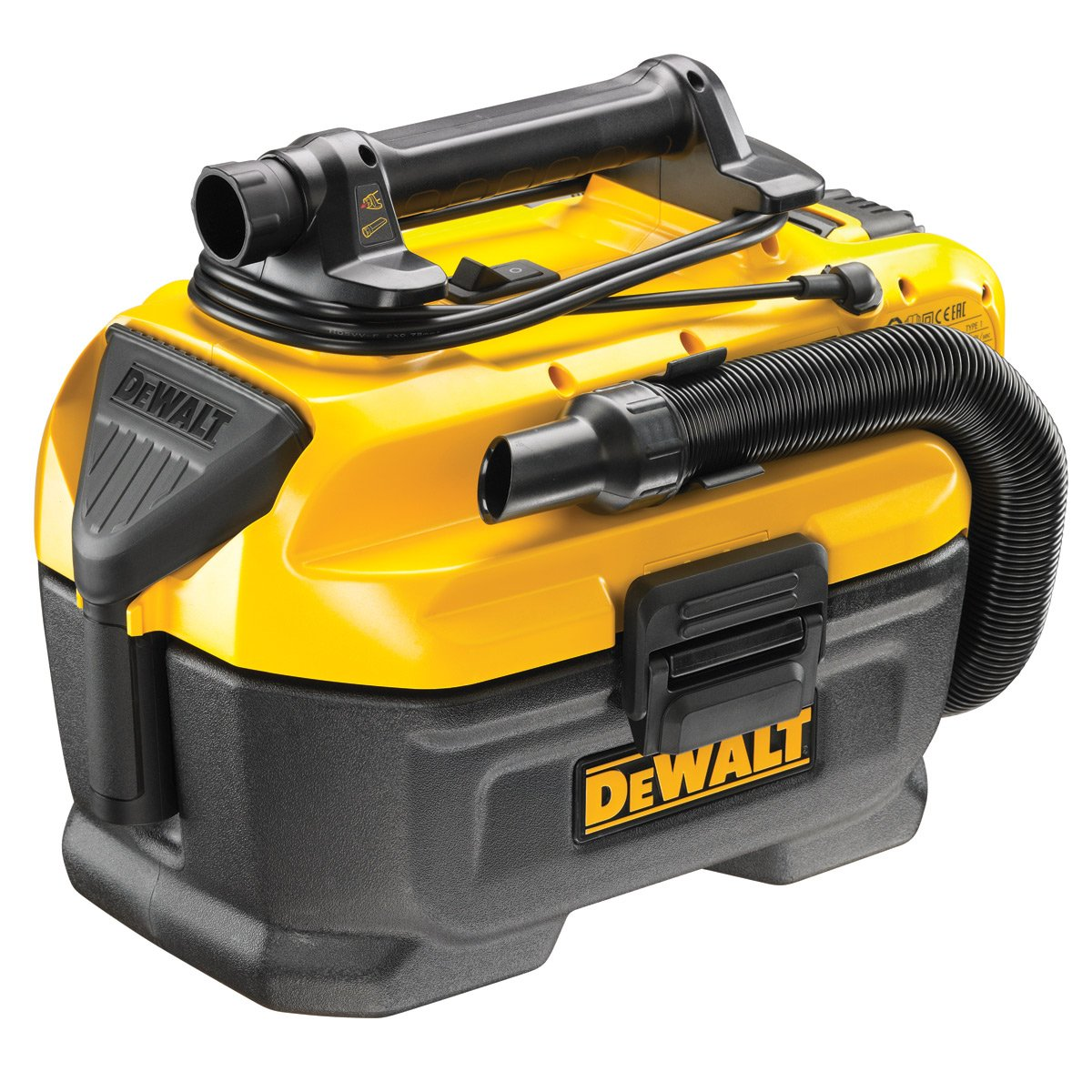 DeWalt DCV582-GB - 14,4 / 18V Inalámbrico/Con Cable Xr Wet/Dry ...