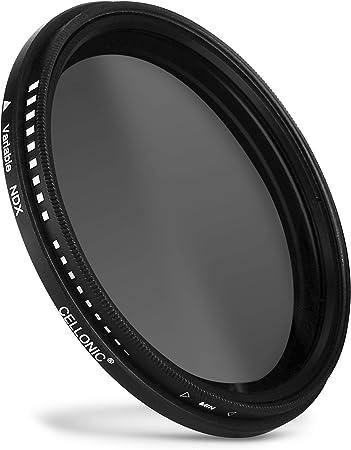 Langzeitbelichtung CELLONIC/® Neutraldichte Filter ND8 kompatibel mit Tamron /Ø 62mm Graufilter