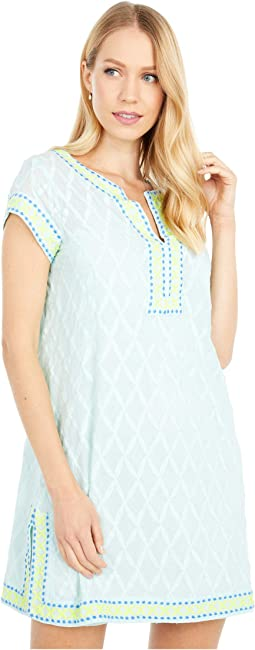 Citrus Embroidered Cover-Up