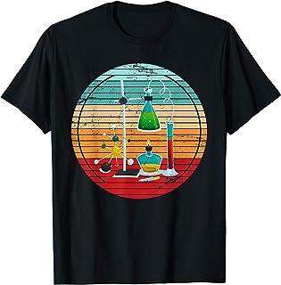 Elementos Químicos Retro Laboratorio Ciencia Químico Química Camiseta