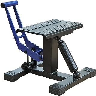 HOMCOM Portable Adjustable Steel Motorcycle Lift Stand/Bike Repair Rack