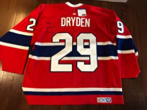 Montreal Canadiens Ken Dryden Autographed Signed Jersey PSA/DNA Dna COA Official - Size XL