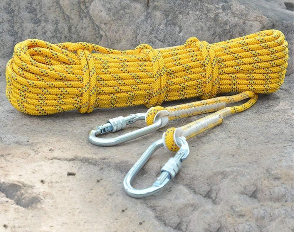 MU Cuerda de Rappel de Seguridad Resistente al Desgaste ...