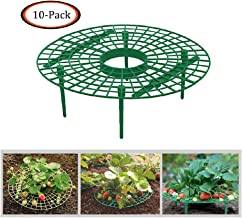 JinJin 10pcs Strawberry Holder Supports Keeping Fruit Elevated to Avoid Ground Rot Handy Strawberry Supports for Your Garden Keep off Strawberries off Rot in The Rainy Days (10 PCS)