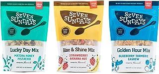 Seven Sundays Grain Free Muesli Cereal Variety Pack (10 Oz, Pack Of 3) | Paleo Friendly | Gluten Free Certified | No Refin...