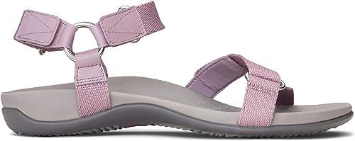 Vionic Wohommes Rest Rest Candace Backstrap Sandal - Ladies Sandals with Concealed Orthotic Arch Support Mauve 8 W US  choisissez votre préférée