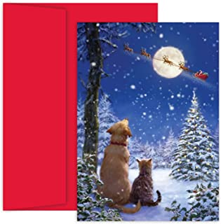 Great Papers! Holiday Greeting Card and to All A Goodnight Holiday Greeting Card (897500)