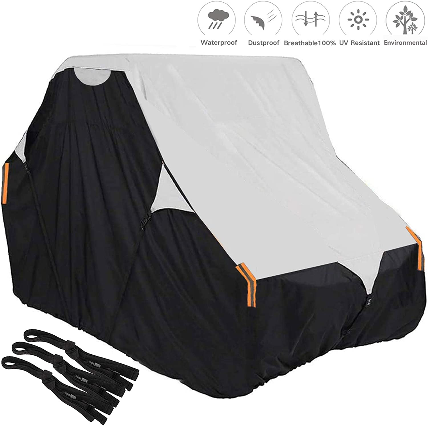 UTV Cover 420D Waterproof Oxford Side by low-pricing Super-cheap Fabric