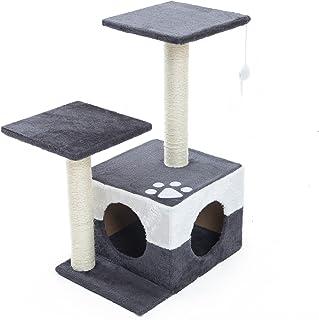Paw Mate Scratcher Mono 69cm - Grey (PET-BC0027-GY)