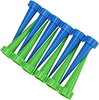 TS LLC 12pcs Automatic Watering Devices Garden Cone Watering Spike Plant Bottle Irrigation Flower Waterier for Indoor Outd...