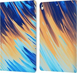 Official Andi Greyscale Two Sides of One Extreme Abstract Marbling Leather Book Wallet Case Cover Compatible for iPad Pro 10.5 (2017)