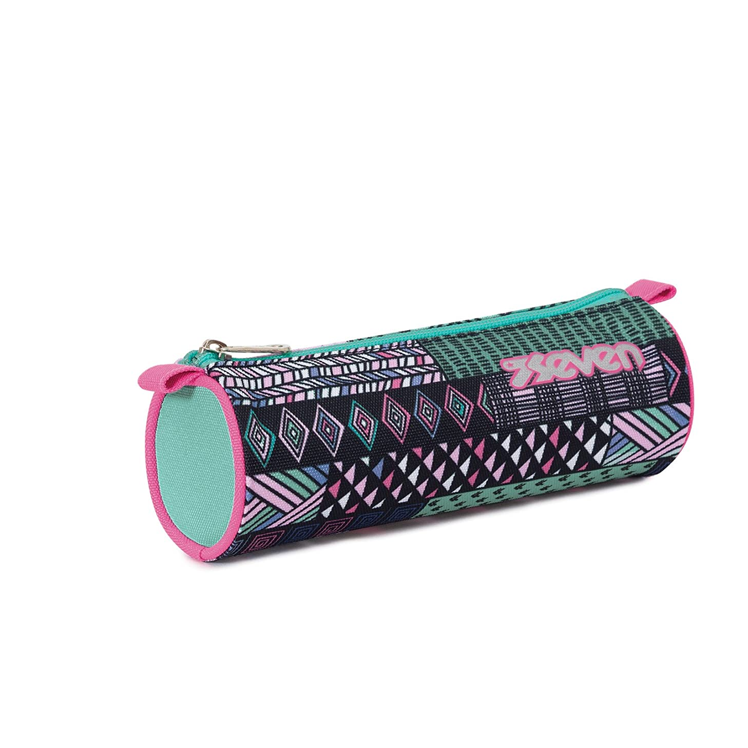 Pencil Bag - SEVEN - ETHNIC - Black Green