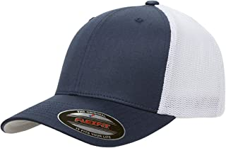 Flexfit Men's Two-Tone Stretch Mesh Fitted Cap