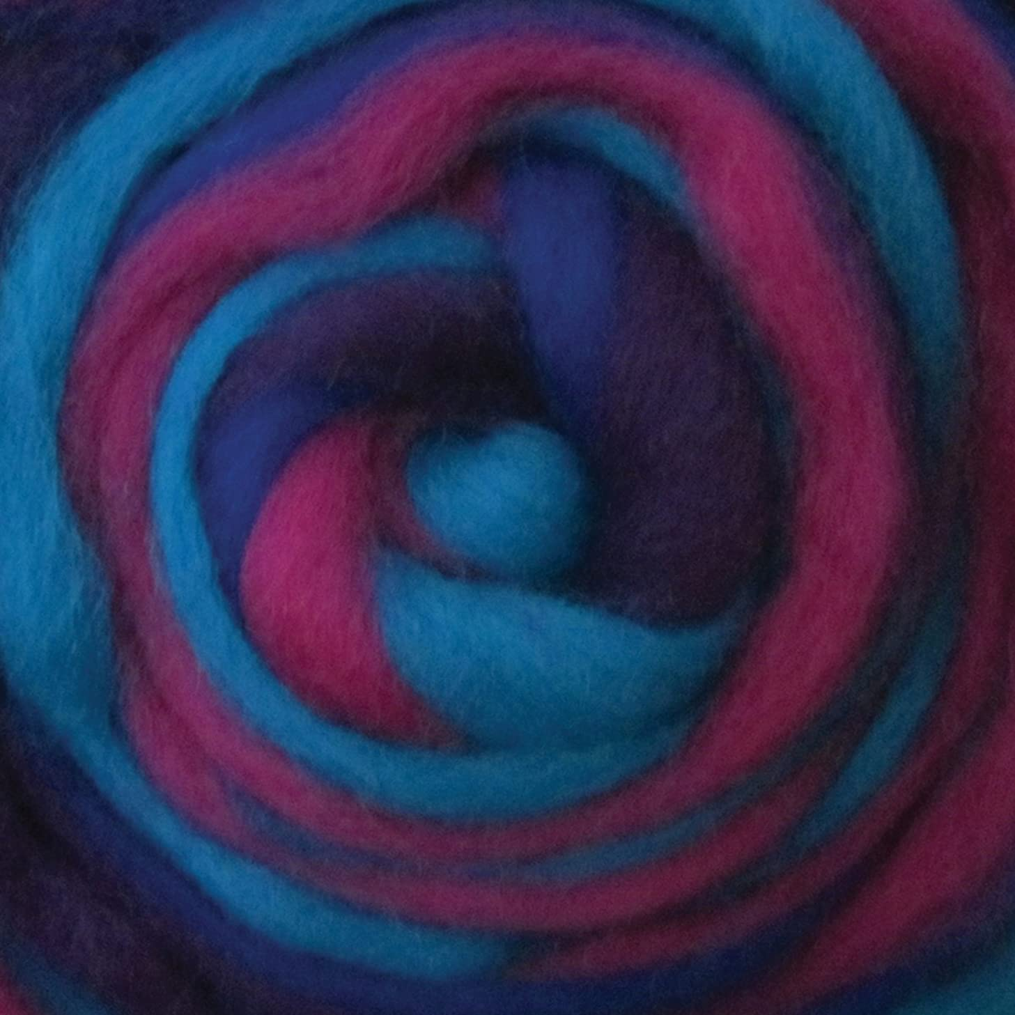Wistyria Editions RS-1011R 12-Inch Wool Roving Stripe, 0.25-Ounce, Jester