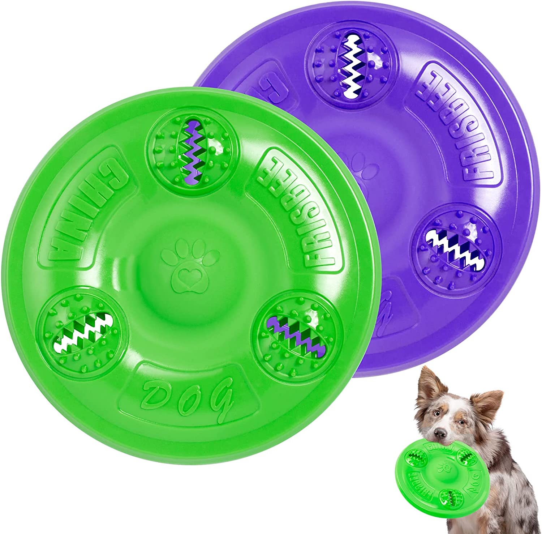 Dog Frisbee YoNiYar Indestructible Our shop most popular Toys OFFer