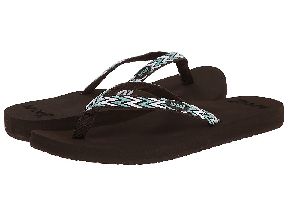 Reef Ginger Drift (Brown/Aqua/White) Women