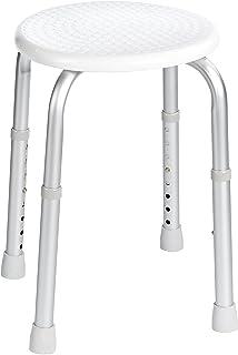 Ridder A00603101 taboret do wanny/prysznica, bez oparcia, regulowana wysokość biały