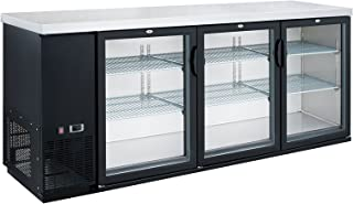 Dukers DBB72-H3 19.1 cu. ft. 3 Door Bar and Beverage Cooler