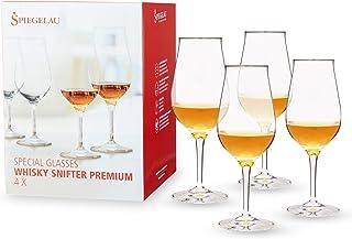 Spiegelau & Nachtmann, 4-teiliges Whiskybecher-Set, Snifter Premium mit gezogenem Stiel, 4460177