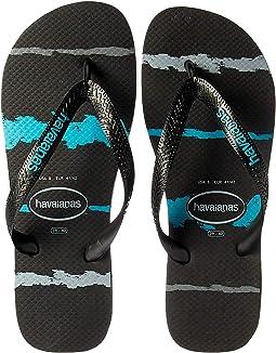 Top Tropical Glitch Sandal