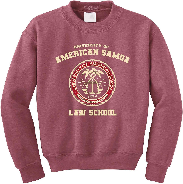NuffSaid University of American Samoa Law School Crewneck Sweatshirt - Unisex Saul Crew