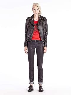 Women's Black Coated Livier-SP Skinny Jegging Jeans 0807v (23)