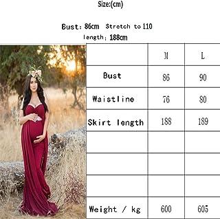 マタニティドレス、妊娠中の女性の写真撮影シュートドレッシングの床をモップ、3色